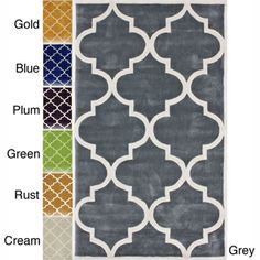 @Overstock.com - nuLOOM Handmade Luna Moroccan Trellis Rug (5' x 8') - Quality meets value in this beautiful modern area rug. Handmade with modified acrylic to prevent shedding, this plush area rug will enhance any home decor.  http://www.overstock.com/Home-Garden/nuLOOM-Handmade-Luna-Moroccan-Trellis-Rug-5-x-8/6660487/product.html?CID=214117 $174.59