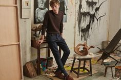 Mango 2015 Menswear Styles Inspired by the Artist