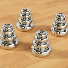Marvellous Metallics Mirrored Stacking Donuts 16pk