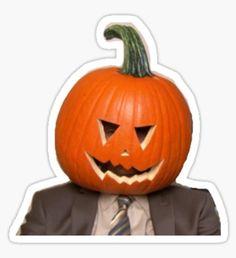 office Memes Halloween - 'The Office ' Sticker by Marisol Huerta. Snapchat Stickers, Meme Stickers, Tumblr Stickers, Cool Stickers, Printable Stickers, The Office Stickers, Laptop Stickers, Journal Stickers, Office Wallpaper