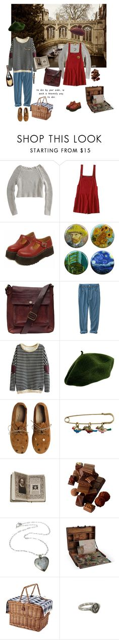 """""""The Bridge of Sighs"""" by sam-penzance ❤ liked on Polyvore featuring T By Alexander Wang, Mancienne, Campomaggi, Anniel, Cath Kidston, Pyrrha and Vulcain"""