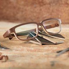 All wood eyewear by ROLF, made in Tirol, Austria.
