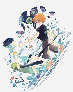Eve Songs, Eve Music, Rock & Pop, Dark Anime Guys, Legend Of Zelda Breath, Beautiful Drawings, Japanese Artists, Fantasy Artwork, My Favorite Music