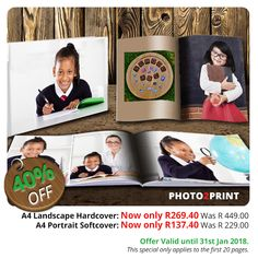 Due to overwhelming popular demand, we have kept these photobooks on special! Offer valid until 31st January 2018. #nottobemissed #greatoffer #valueformoney