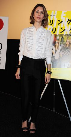 On October 18, Sofia Coppola released her film The Bling Ring at the 26th International Film Festival in Tokyo in this Valentino outfit