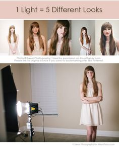 {5 Different Looks with 1 Light} Off Camera Lighting Tips