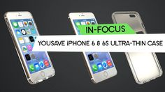 YouSave Accessories - iPhone 6 & 6s Ultra-Thin Gel Case