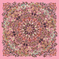 Favorite designer & top 2 favorite artists:) alexander mcqueen & damien hirst | scarf collection