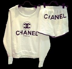 Chanel Logo Comfy Lounge Outfit by ChangingCloth on Etsy, $50.00