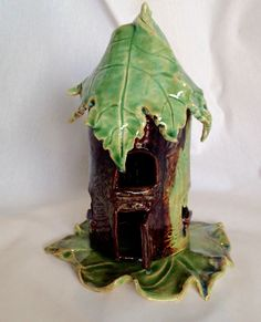 A personal favorite from my Etsy shop https://www.etsy.com/listing/225421531/fairy-house-candle-holder-2-pieces