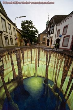 This is the collection of 3D Street Art Paintings. Fascinated by the art that creates 3D optical illusions, Müller has now his own style and...