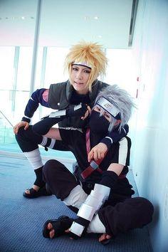 Naruto cosplay.