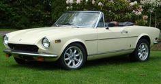 Backdated '74/'78 Fiat 124 Spider.