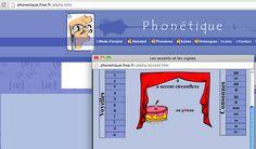 Phonétique FLE. Compréhension orale. Production orale. Un excellent site à découvrir. Accent Circonflexe, French Websites, Les Accents, French Classroom, French Immersion, Second Language, France, School Resources, Comprehension