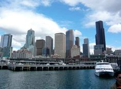Play tourist on the water taxi to West Seattle.