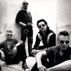 Anton Corbijn U2 Achtung Baby Photo Shoot, Morocco-