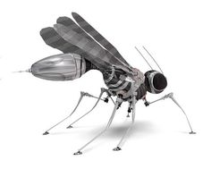 2018 - Flying robot insect spy spies military future technology