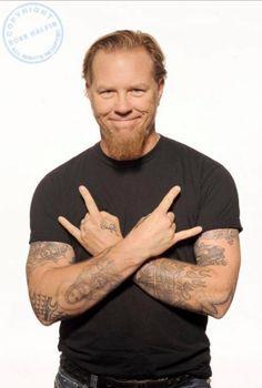 James hetfield of Metallica by Ross Halfin Pothography.