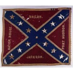 Battle Flag No. 226 This flag is probably from the 3rd Kentucky Mounted Infantry and was captured at Richland Creek, Tenn., December 16 or 17, 1864.
