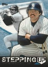 2015 Topps Series 2 Stepping Up #SU-1 Reggie Jackson - New York Yankees