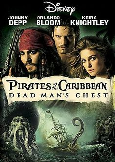 Pirates of the Caribbean: Dead Man's Chest. My favourite Pirates of the Caribbean movie