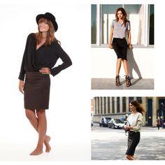 #lookoftheday con un clásico de la moda: la falda lápiz. En Or Else la tenemos en verde caza y os aseguramos que queda como un guante! Disponible en: www.orelse.es #ootd #getthelook #fw2014 #orelsedaily #orelsebarcelona #fashion #skirt