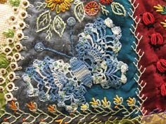 Quilting Blog - Cactus Needle Quilts, Fabric and More: Crazy Quilts