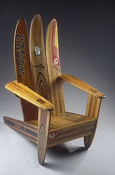 chase de forest's water ski chair