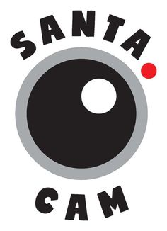 Free Santa Cam cutting file for Silhouette and Cricut. In SVG, DXF, EPS, PNG and JPG format. Also works for Christmas clip art. | LovePaperCrafts.com