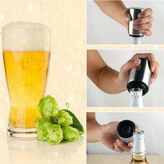 80pcs/sets Steel Beer Bottle Opener Automatic Bottle Openers Wine Bottle Opener For Bars, Hotels, Restaurants, Party Venue