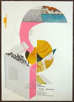 Louise Mitchels - Grand Predateur - Tour poster by Damien Tran, via Flickr