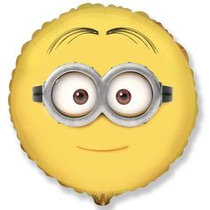 18 Despicable Me Minions Dave Foil Balloon. Unpackaged 18 Despicable Me Minions Dave Foil Balloon. Minion Dave, My Minion, Minion Things, Minion Bedroom, Minion Goggles, Cute Minions, Minions Fans, Playroom Decor, Despicable Me