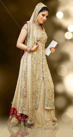 Fashionable Bridal Sharara for Brides
