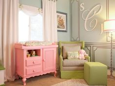 Laila Ali's Hopeful and Spiritual Nursery in Dreamy Celebrity Nurseries from HGTV