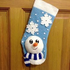 Snowman Christmas Stocking 5/00