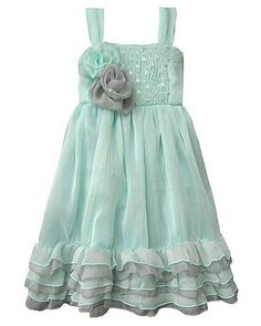 5T Crystal Cove Tiffany Blue Dress by Isobella and Chloe #IsobellaChloe #Dressy