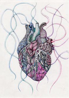 corazon_texturas_color   por Maria Luisa Bermejo