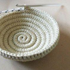 crochet basket pattern yin yang jewelry dish 6 photo tutorial jewelry organizer crochet christmas gift for her yin yang jewelry dish and paisley - PIPicStats Crochet Patterns Bag Its coming along… Etsy Penye iplikten sepet Penye iplikten sepet Source by Crochet Bowl, Crochet Basket Pattern, Knit Crochet, Loom Knit, Crochet Baskets, Crochet Slippers, Knitting Patterns, Crochet Patterns, Crochet Ideas