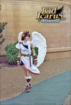 Pit - Kid Icarus Uprising - Nintendo by *pikminlink on deviantART