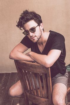 Jack Falahee by Brantley Gutierrez for Vanity Fair's 'Coachella 2015 Portrait Session'