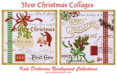 Christmas collages