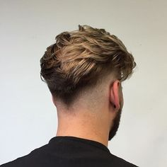 13 Most Popular Layers To Fade Haircut - Men's Hairstyles 2019 - Men's style, accessories, mens fashion trends 2020 Mens Hairstyles Fade, Cool Hairstyles For Men, Cool Haircuts, Hairstyles Haircuts, Haircuts For Men, Barber Hairstyles, Hair And Beard Styles, Curly Hair Styles, Undercut Men