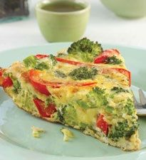 Foods for Fertility: Red & Green Frittata. #recipe