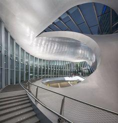 Arnhem Station. The Netherlands. UNStudio.
