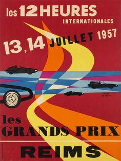 Reims, Les Grands Prix, les 12 heures Internationales, 1957
