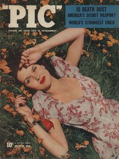 """PIC"" magazine - ' Covering The Entire Field of Entertainment', July 1941."