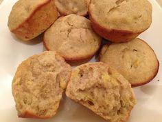 Samantha Chic: Good Eats: Banana Cinnamon Muffins