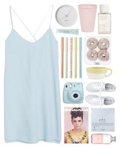 """:)"" by child-of-the-tropics ❤ liked on Polyvore featuring MANGO, Crate and Barrel, Dogeared, Korres, Georg Jensen, Aveda, Bloomingville, Lord & Berry, Emma Watson and Toast"