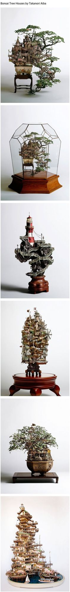 Bonsai Tree Houses - Takanori Aiba