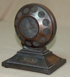 Vintage Microphone. #microphone #mics #vintageaudio http://www.pinterest.com/TheHitman14/headphones-microphones-%2B/